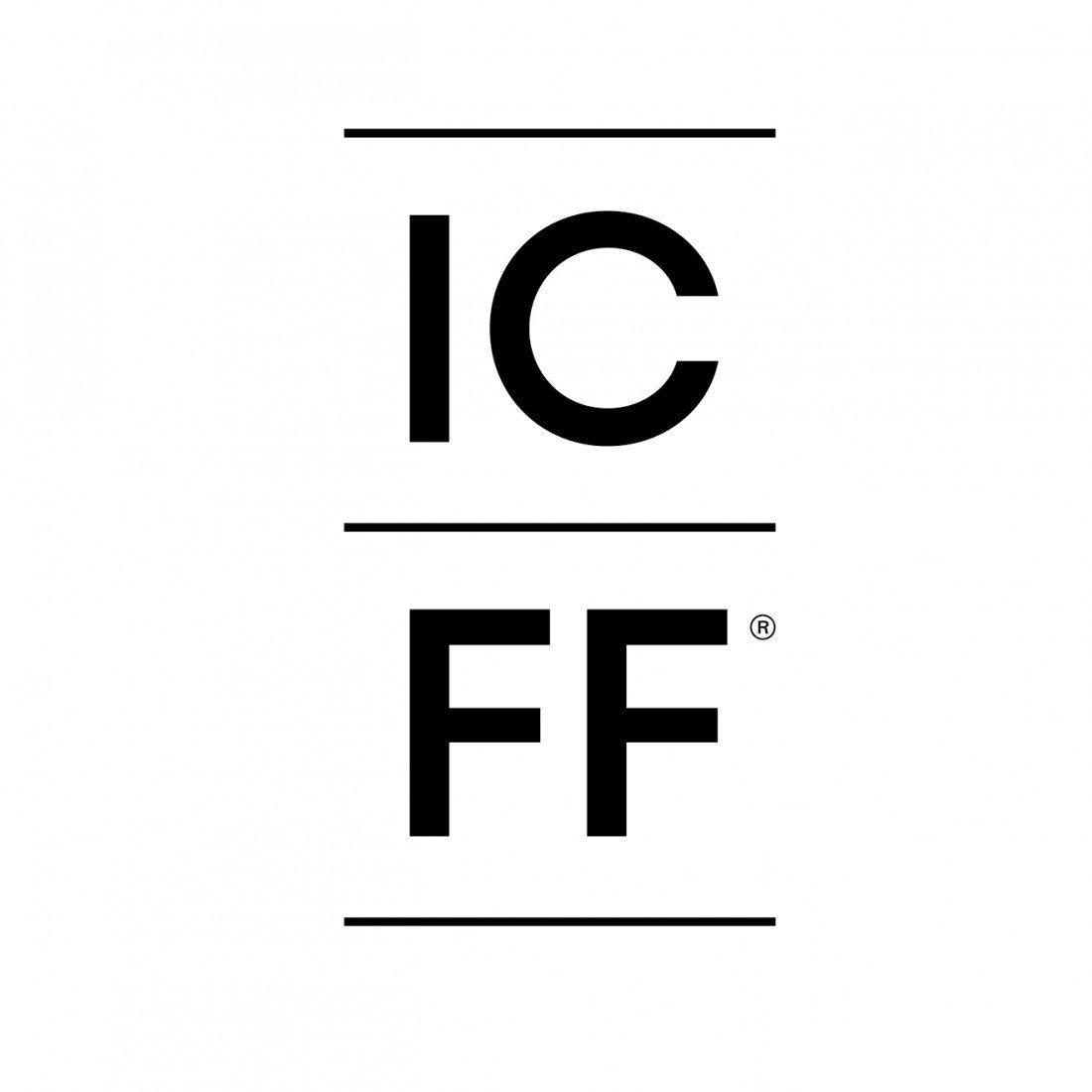 美國 紐約國際當代家俱家飾展 (ICFF) logo